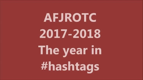 Thumbnail for entry Edisto High AFJROTC 2017-2018 Year in Review