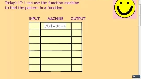 Thumbnail for entry FUNCTION MACHINE