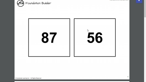 Thumbnail for entry Number Line Lesson 9-28-2020