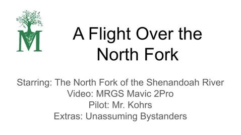 Thumbnail for entry Shenandoah River Flight 1
