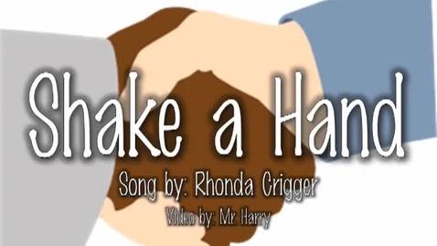 Thumbnail for entry Shake a Hand (Ah la la la song)        kids song by Rhonda Crigger