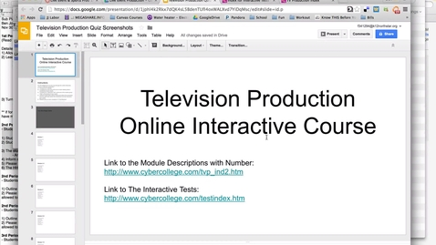 Thumbnail for entry Instructions for Online Textbook