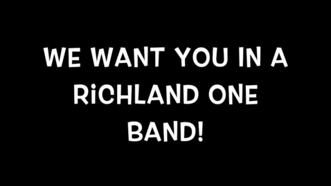 Thumbnail for entry Richland One Band