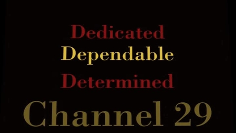 Thumbnail for entry Channel 29 - May 7, 2012