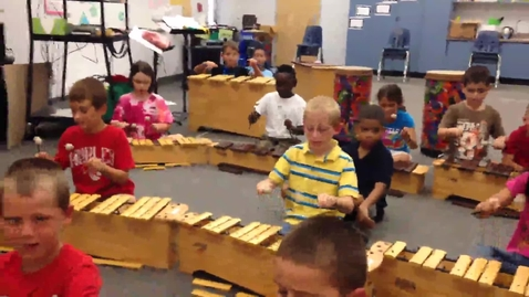 """Thumbnail for entry 14-15 Ms. Caccavo's 2nd grade class """"2, 4, 6, 8"""" improvisation"""