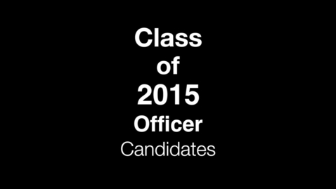 Thumbnail for entry PTHS Class of 2015 officer speeches