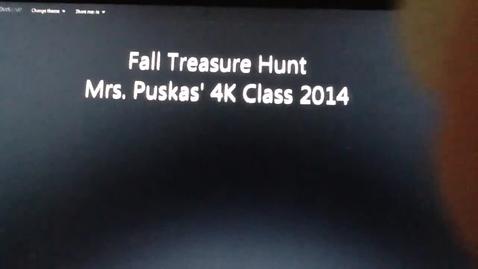 Thumbnail for entry Fall treasure hunt