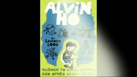 Thumbnail for entry Alvin Ho Allergic to Girls, ...Book Trailer