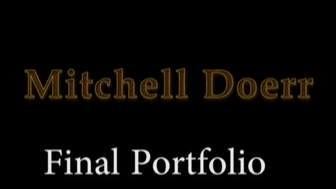 Thumbnail for entry mitch doerr final