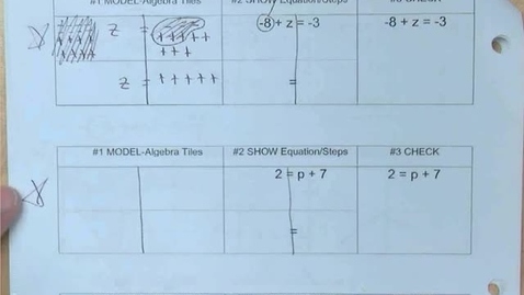Thumbnail for entry Answers to 7.1 (prep) Worksheet Homework Plus Answers to Classwork