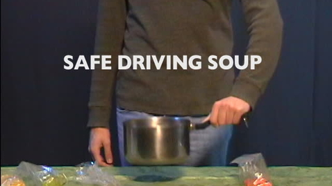 Thumbnail for entry Texting While Driving: A Recipe for Disaster PSA