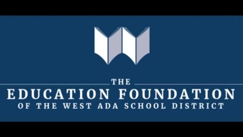Thumbnail for entry Education Foundation of West Ada