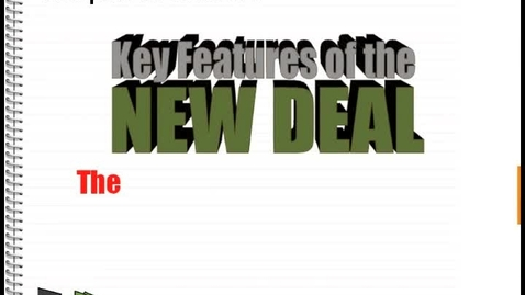 Thumbnail for entry Hist7-Ch7-Lesson 7- The New Deal