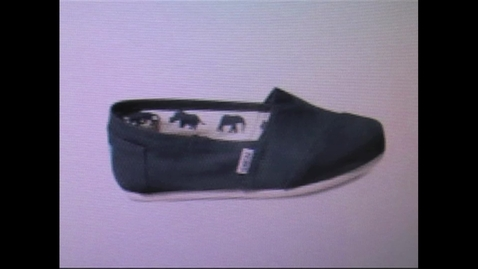 Thumbnail for entry TOMS Shoes at CHS