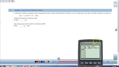 Thumbnail for entry Quadratic Applications