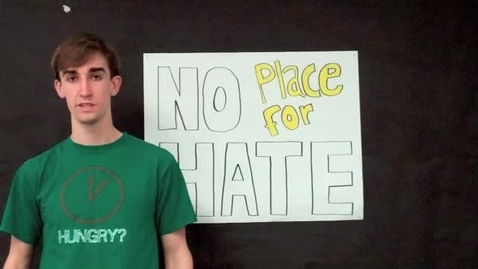 Thumbnail for entry No Place for Hate