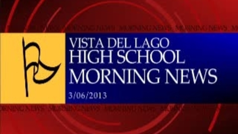 Thumbnail for entry Vista Eagle Production Broadcast 3-6-13