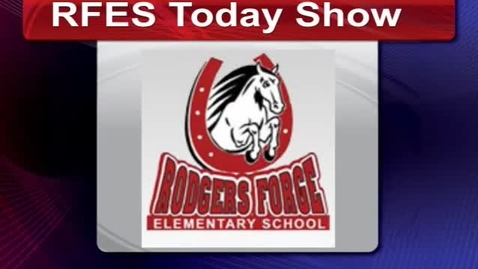 Thumbnail for entry RFES Today Show 4/6/2016