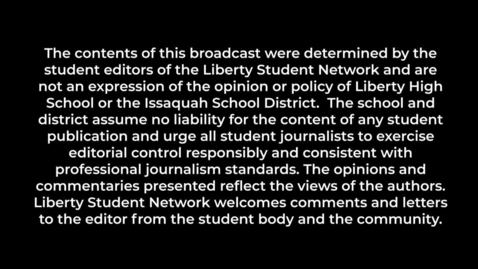 Thumbnail for entry Liberty Student Network  November 2020 Broadcast