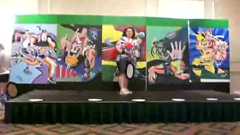 Thumbnail for entry Bolton Art Club - Halftime Show Performance
