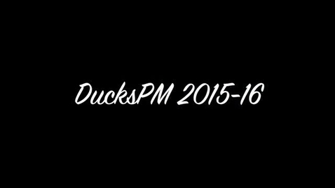 Thumbnail for entry PMDucks 2015-16