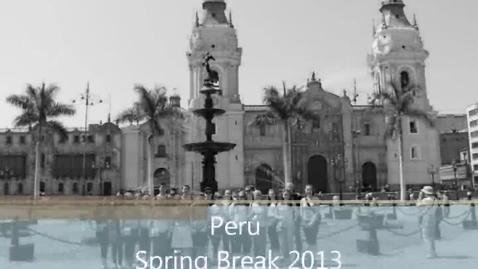 Thumbnail for entry RDHS Peru Slideshow