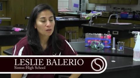 Thumbnail for entry 2015 HS Teacher of the Year - Leslie Balerio