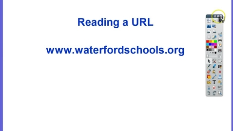 Thumbnail for entry Reading a URL - Domain names and Top Level Domains
