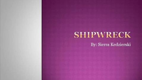 Thumbnail for entry Shipwrecks