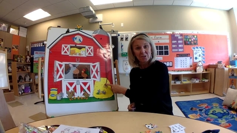 Thumbnail for entry Literacy:   In The Barn book