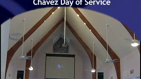 Thumbnail for entry Cesar Chavez Day of Service