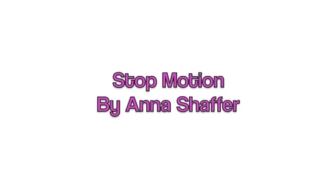 Thumbnail for entry Stop-Motion Animation -- Anna Shaffer (gr.8)