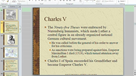 Thumbnail for entry Reformation Lecture 2