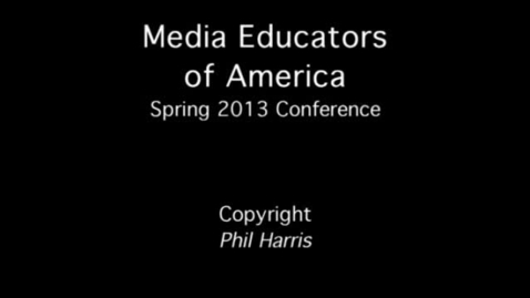 Thumbnail for entry 2013 MEOA Spring Conference: Copyright
