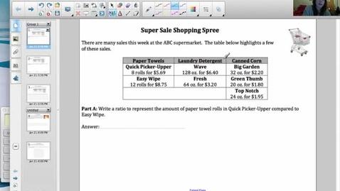 Thumbnail for entry Super Saver Shopping Spree Portfolio Piece