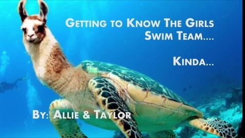 Thumbnail for entry WGH Girls Swim Team - WSCN 2015/2016