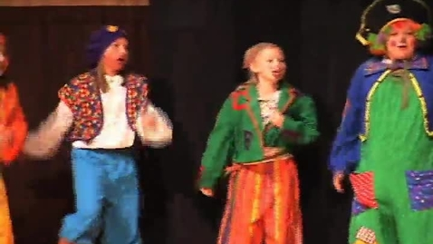 Thumbnail for entry Missoula Children's Theatre Treasure Island Performance in Hobbs, NM 2010
