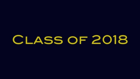 Thumbnail for entry DV Class of 2018 Elections
