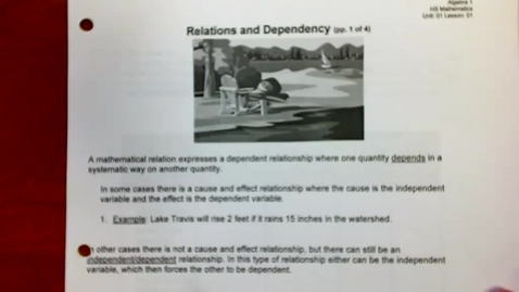 Thumbnail for entry Relations & Dependency