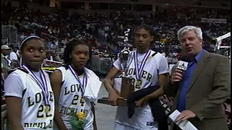 Thumbnail for entry Lower Richland Girls Basketball Team Win Fourth State Championship