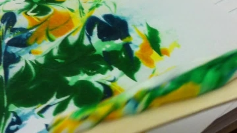 Thumbnail for entry Marbling with Shaving Cream and Food Coloring - Polar and Nonpolar - Part 3