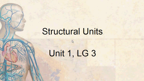 Thumbnail for entry A&P Structural Units