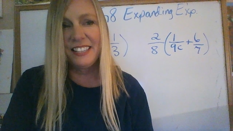Thumbnail for entry Brighton Adventist Academy Math Grade 8 expanding expressions