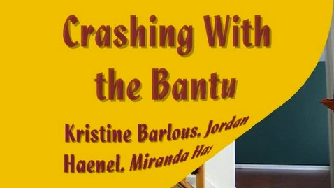 Thumbnail for entry crashing with the bantu