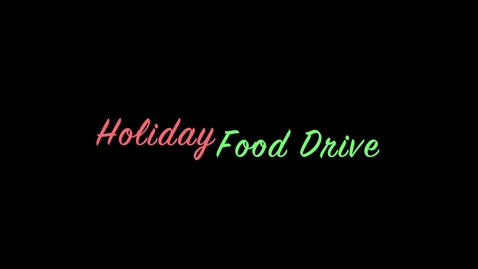 Thumbnail for entry 2013 South Central Food Drive - Thursday