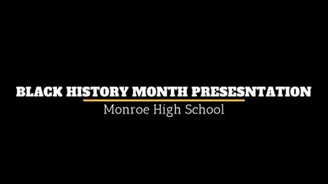 Thumbnail for entry MHS Black History Program