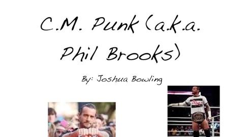 Thumbnail for entry C.M. Punk