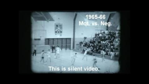 Thumbnail for entry 1965-66 Marquette Senior High School basketball vs. Negaunee
