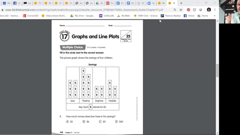 Thumbnail for entry 2nd grade math - Chapter 17 Test Prep
