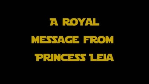 Thumbnail for entry FCAT Star Wars - Princess Leia